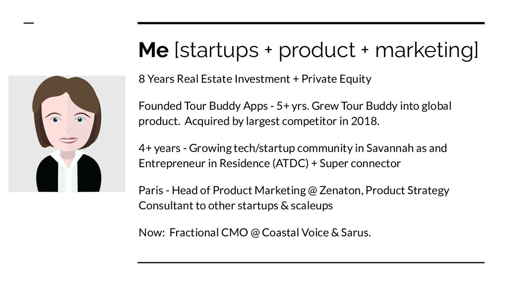 Me [startups + product + marketing] 8 Years Rea...