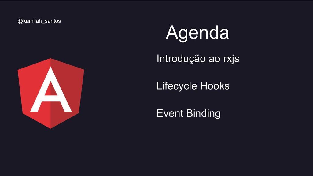 Introdução ao rxjs Lifecycle Hooks Event Bindin...