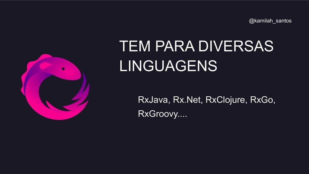 RxJava, Rx.Net, RxClojure, RxGo, RxGroovy.... T...