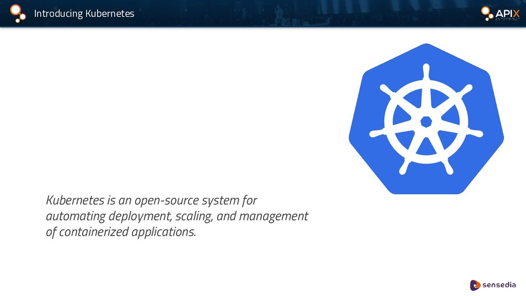 Introducing Kubernetes Kubernetes is an open-so...