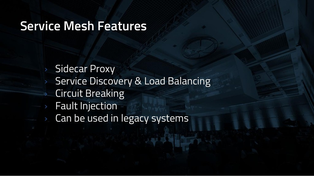 Service Mesh Features › Sidecar Proxy › Service...