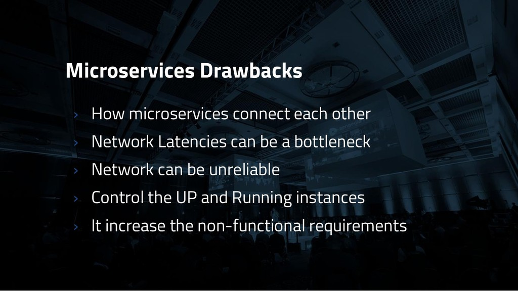 Microservices Drawbacks › How microservices con...