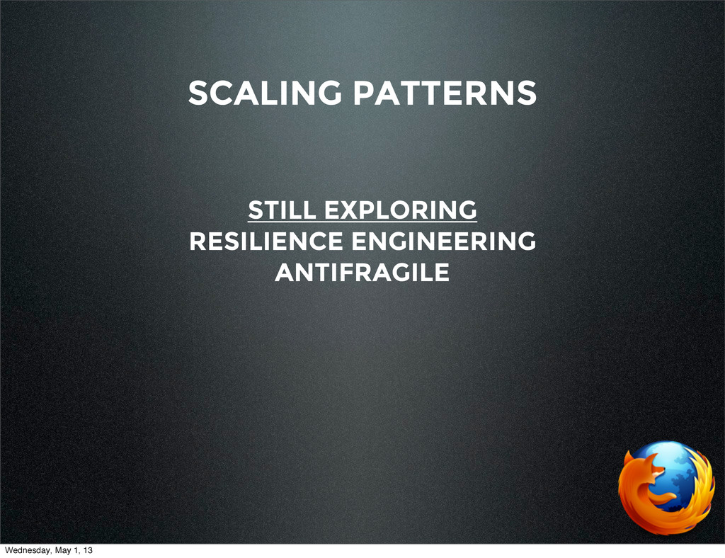 SCALING PATTERNS STILL EXPLORING RESILIENCE ENG...