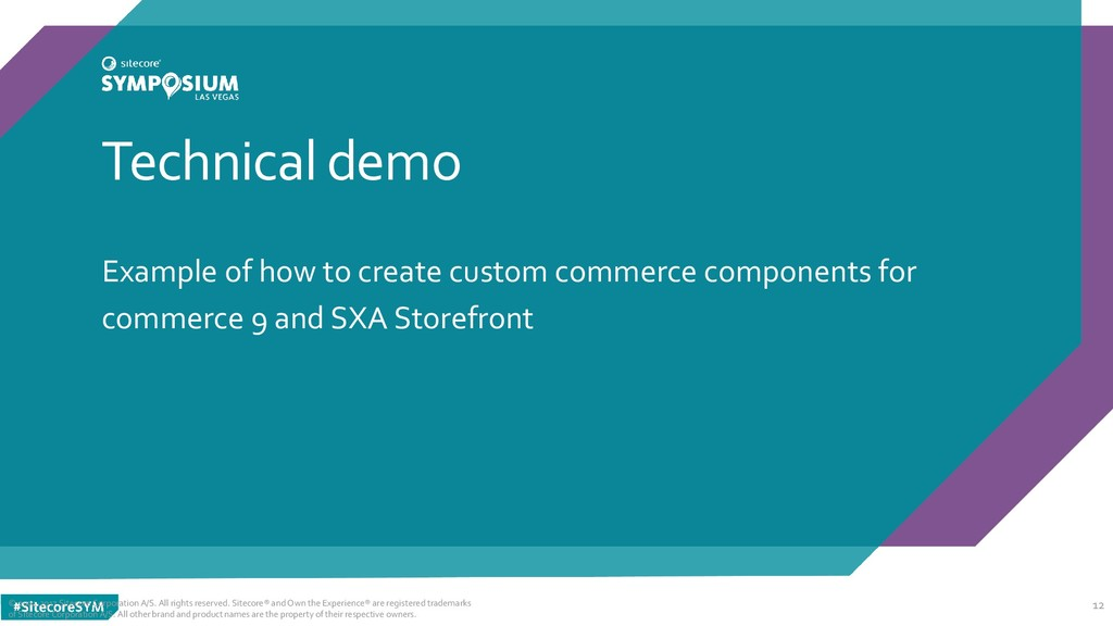 Technical demo Example of how to create custom ...