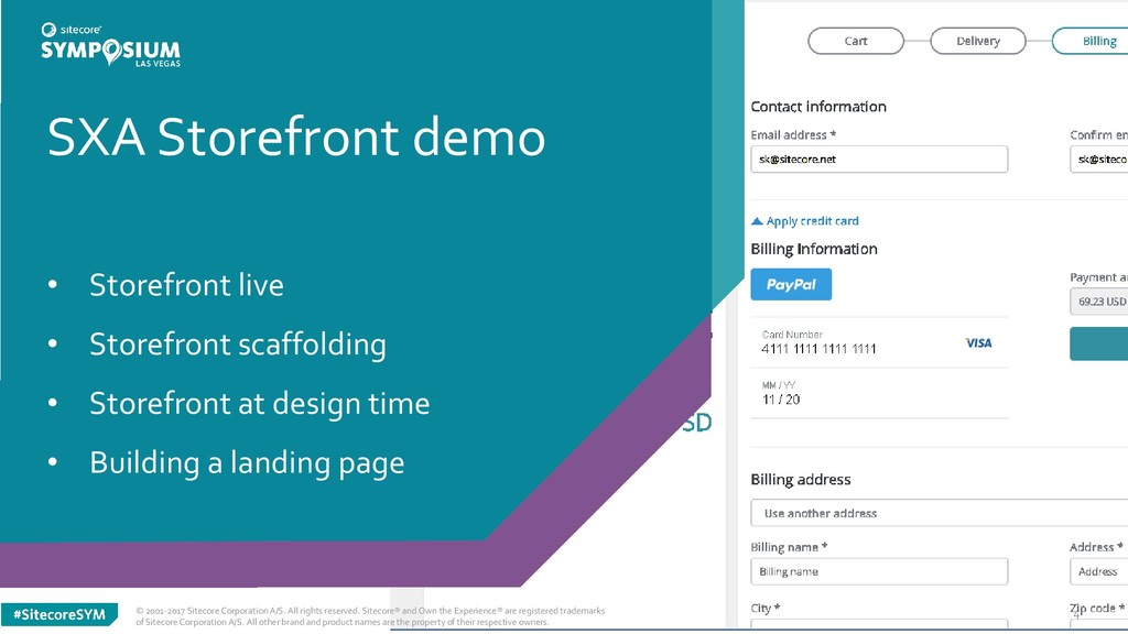 SXA Storefront demo • Storefront live • Storefr...