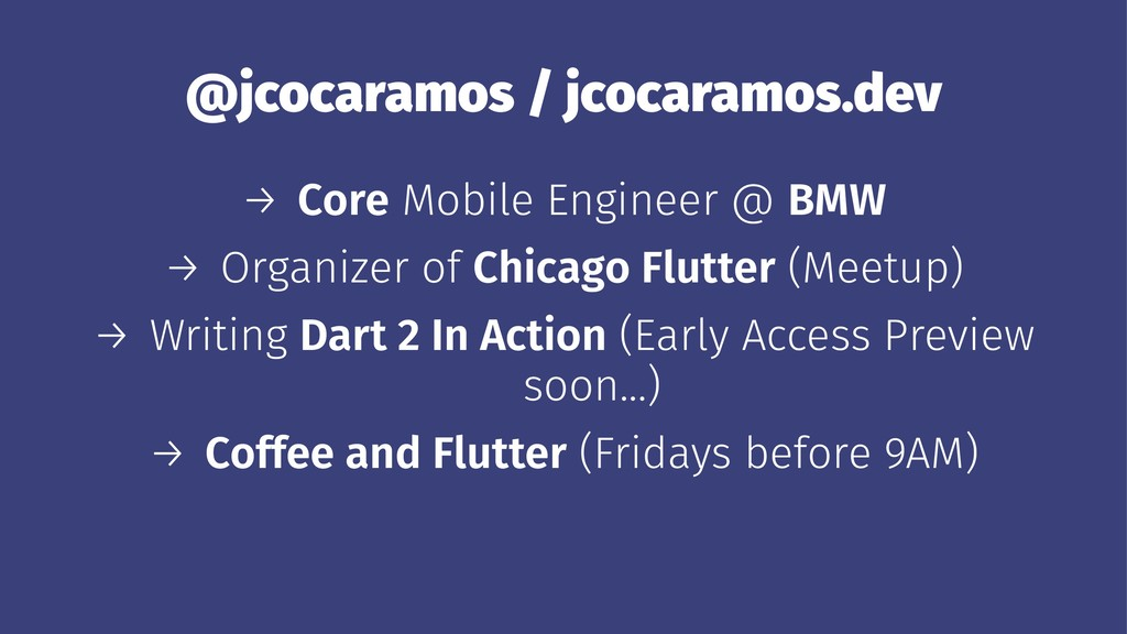 @jcocaramos / jcocaramos.dev → Core Mobile Engi...