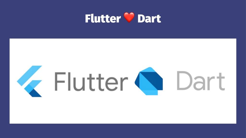 Flutter Dart