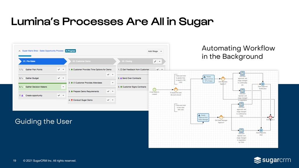 © 2021 SugarCRM Inc. All rights reserved. Guidi...