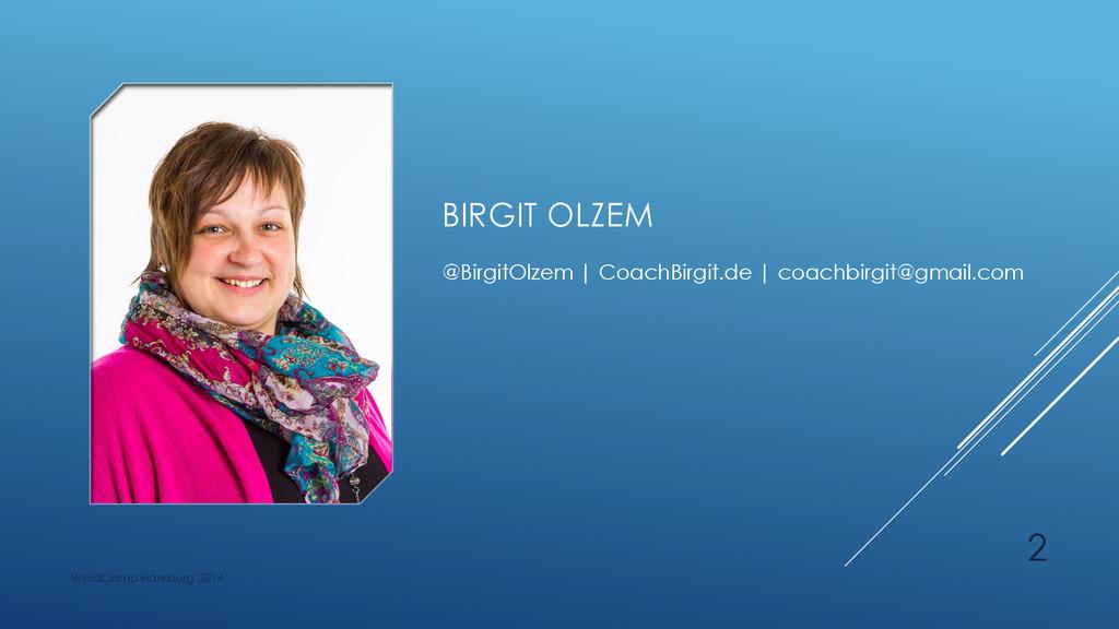 BIRGIT OLZEM @BirgitOlzem | CoachBirgit.de | co...