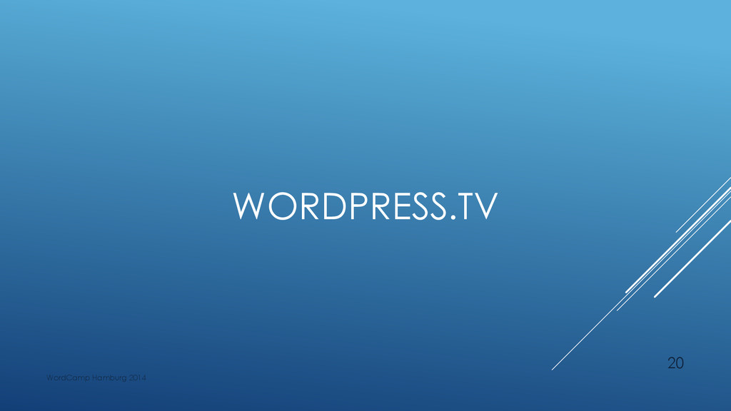WORDPRESS.TV WordCamp Hamburg 2014 20