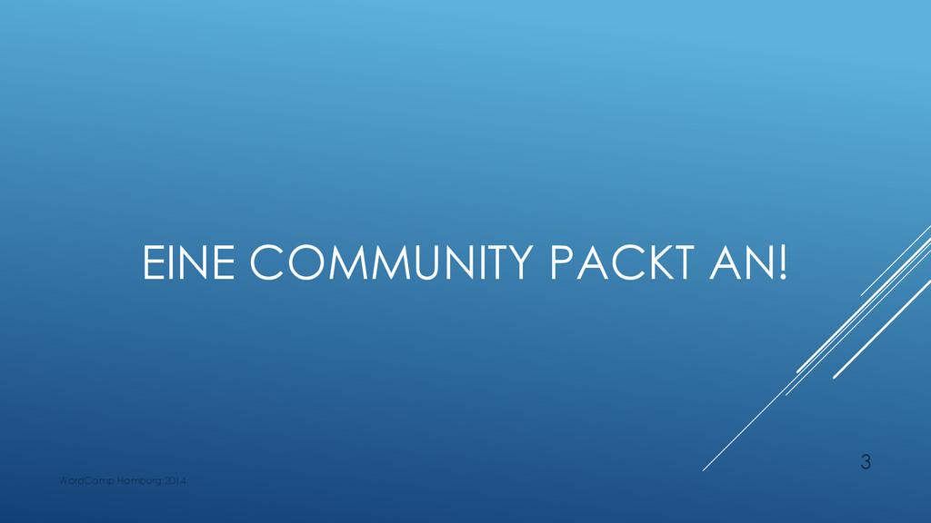 EINE COMMUNITY PACKT AN! WordCamp Hamburg 2014 3