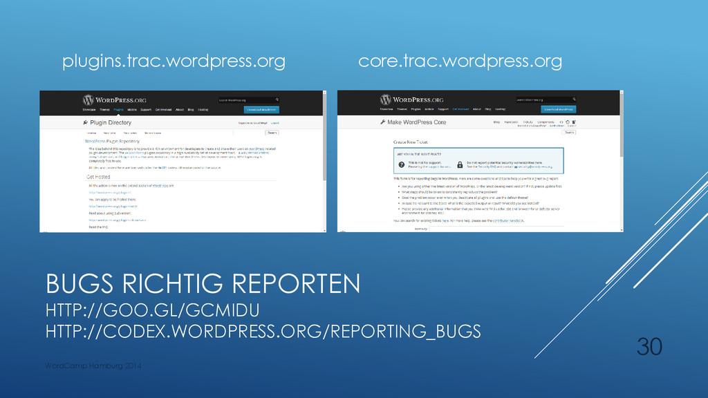 BUGS RICHTIG REPORTEN HTTP://GOO.GL/GCMIDU HTTP...