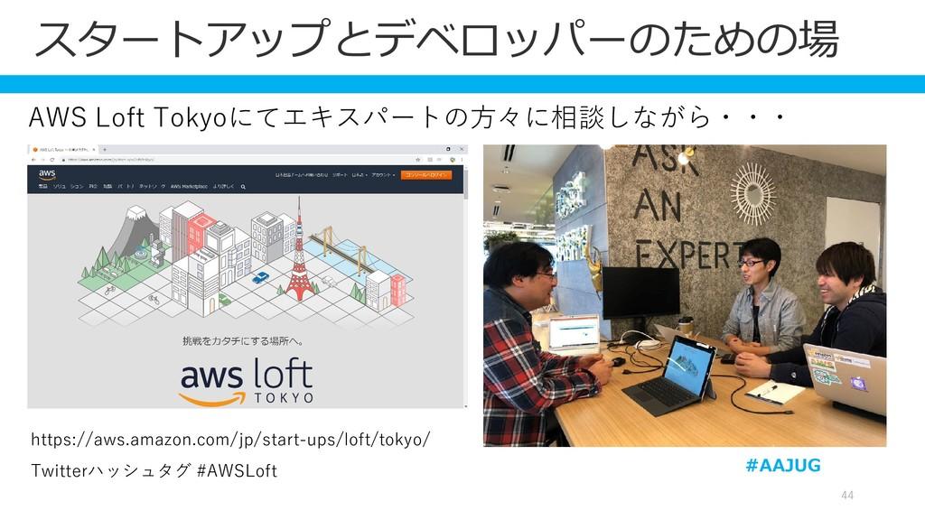 44 https://aws.amazon.com/jp/start-ups/loft/tok...