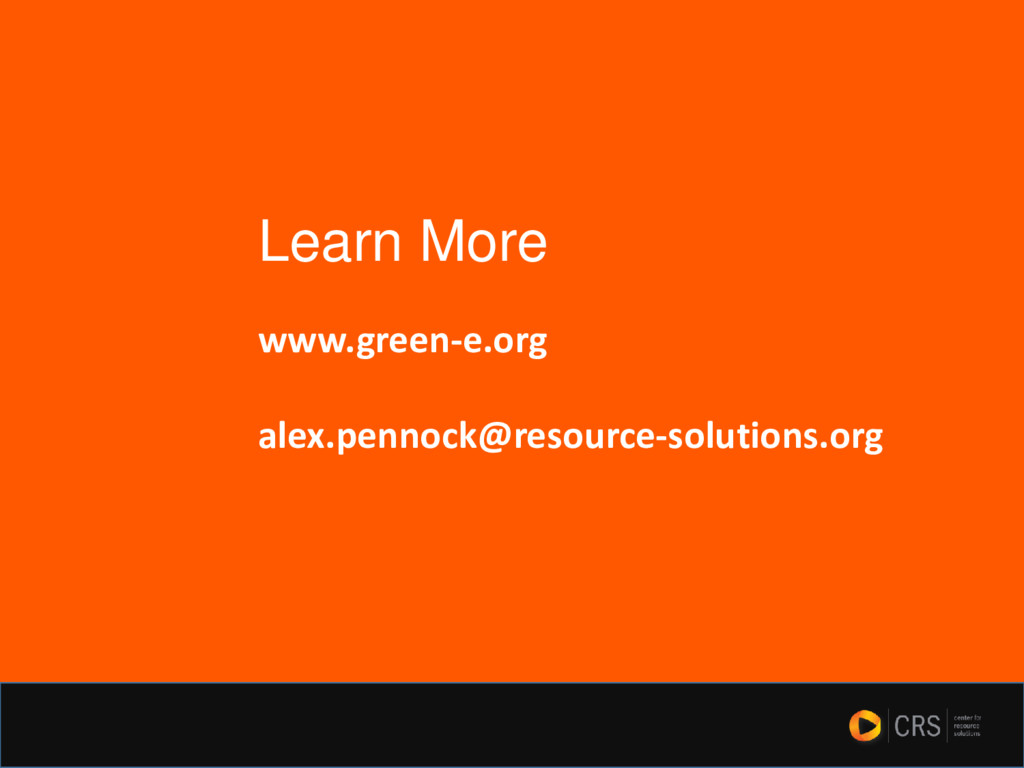 www.green-e.org alex.pennock@resource-solutions...