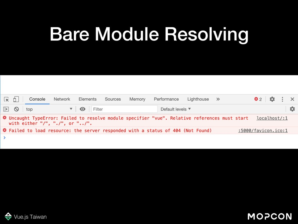 Bare Module Resolving