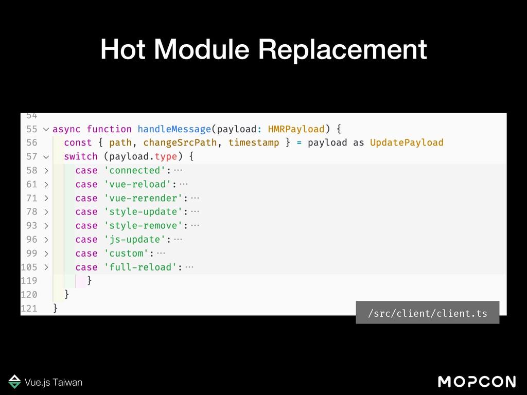 /src/client/client.ts Hot Module Replacement