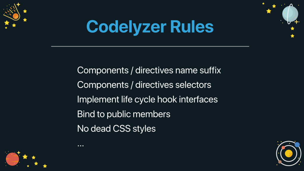 Codelyzer Rules Components / directives name su...