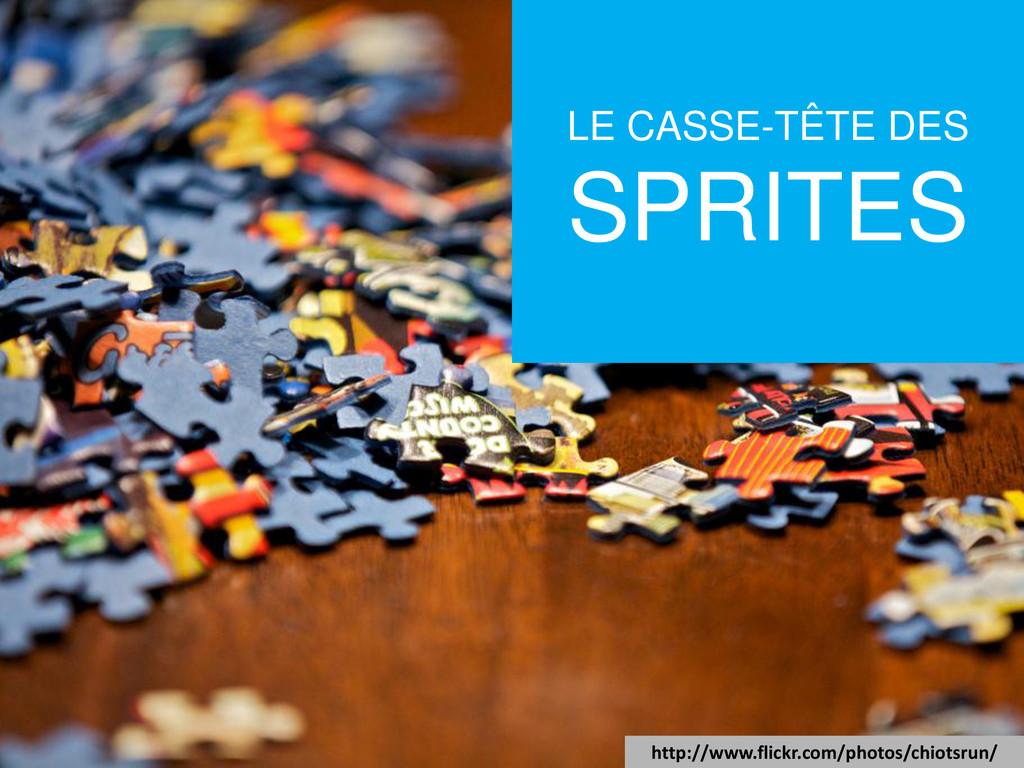 LE CASSE-TÊTE DES SPRITES http://www.flickr.com...