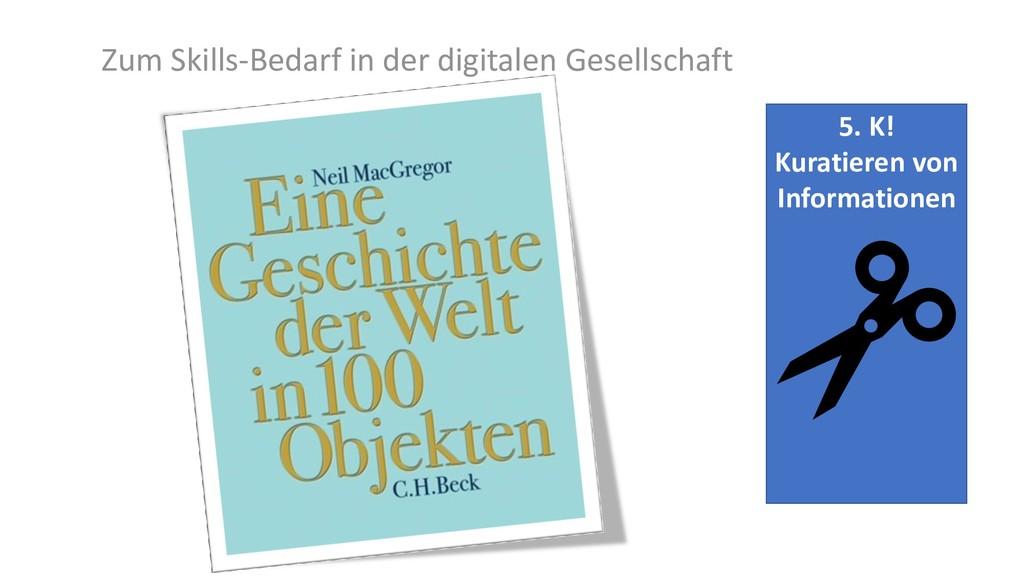 5. K! Kuratieren von Informationen Zum Skills-B...