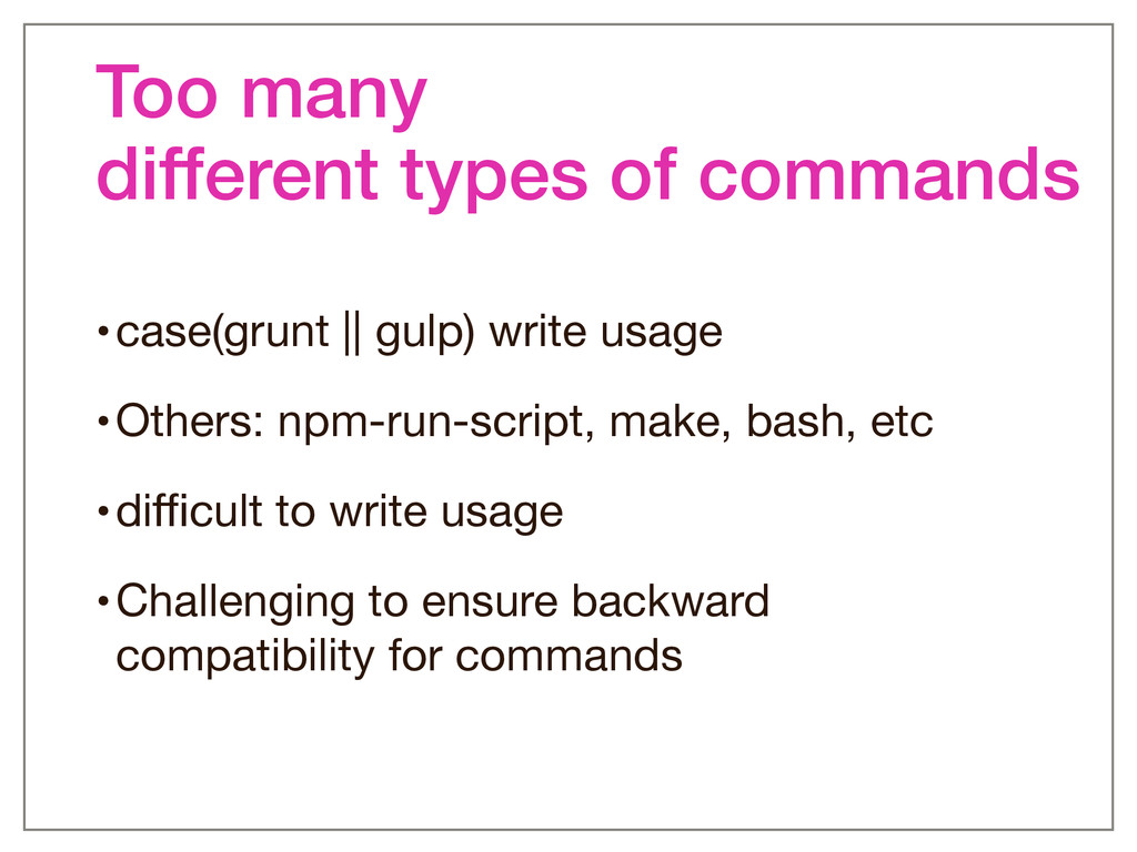 Too many