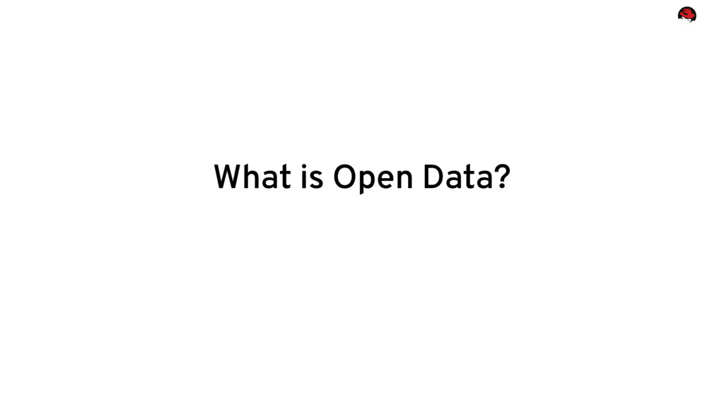 What is Open Data?