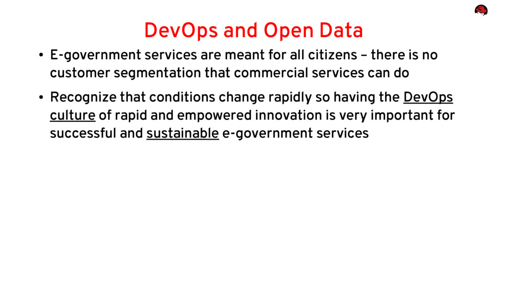 ● E-government services are meant for all citiz...
