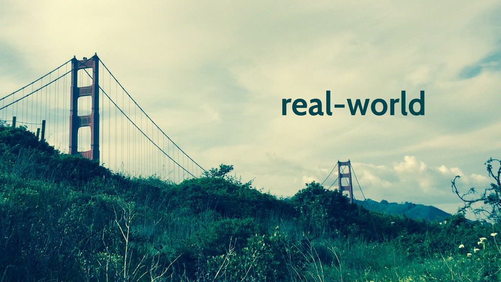 real-world