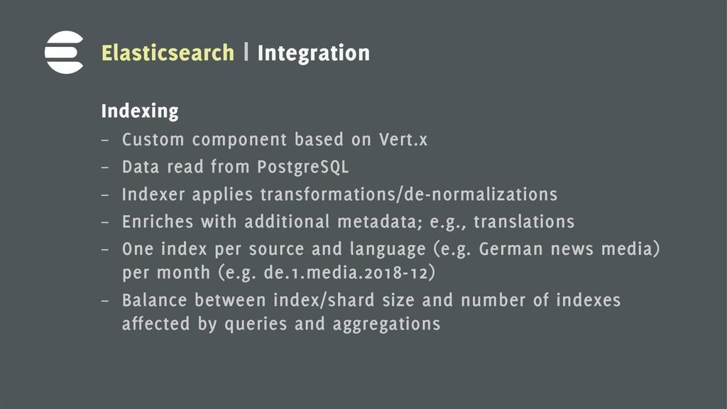 6 Elasticsearch | Integration Indexing – Custom...