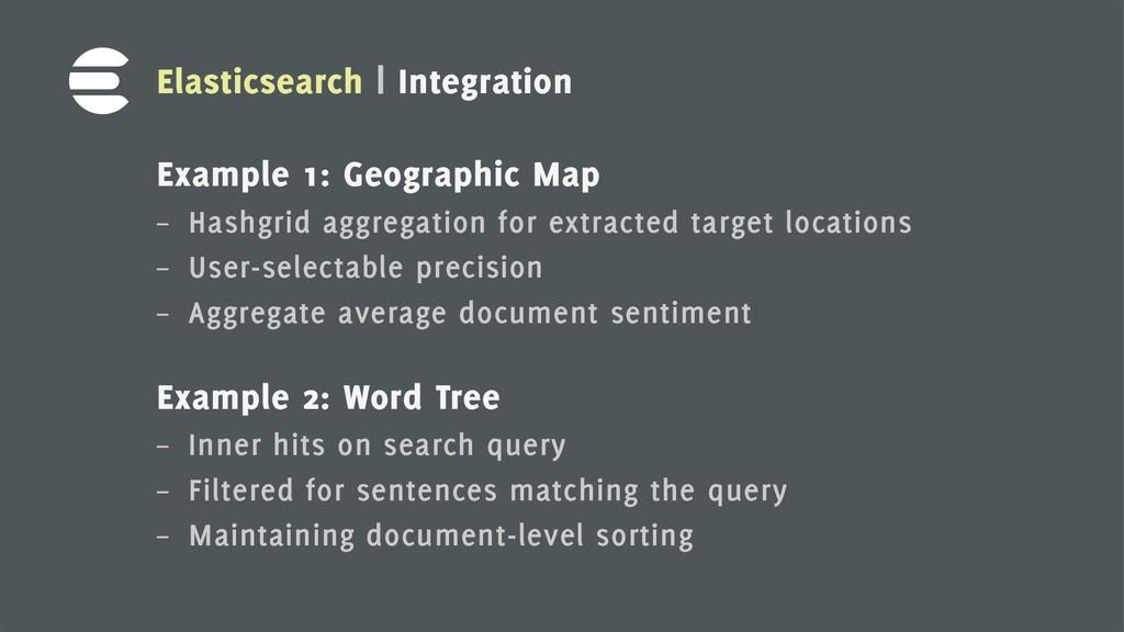 8 Elasticsearch | Integration Example 1: Geogra...