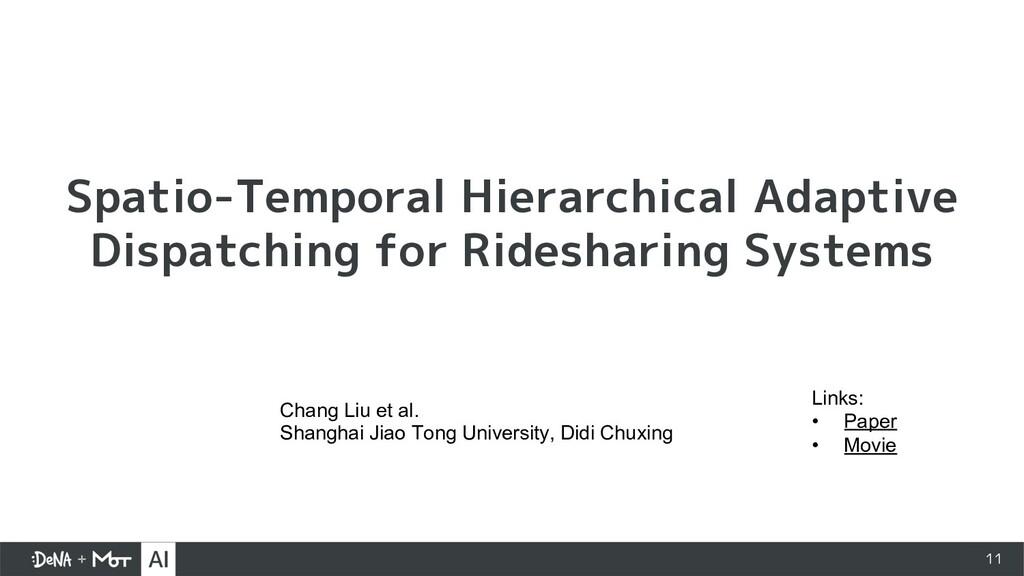 11 Spatio-Temporal Hierarchical Adaptive Dispat...