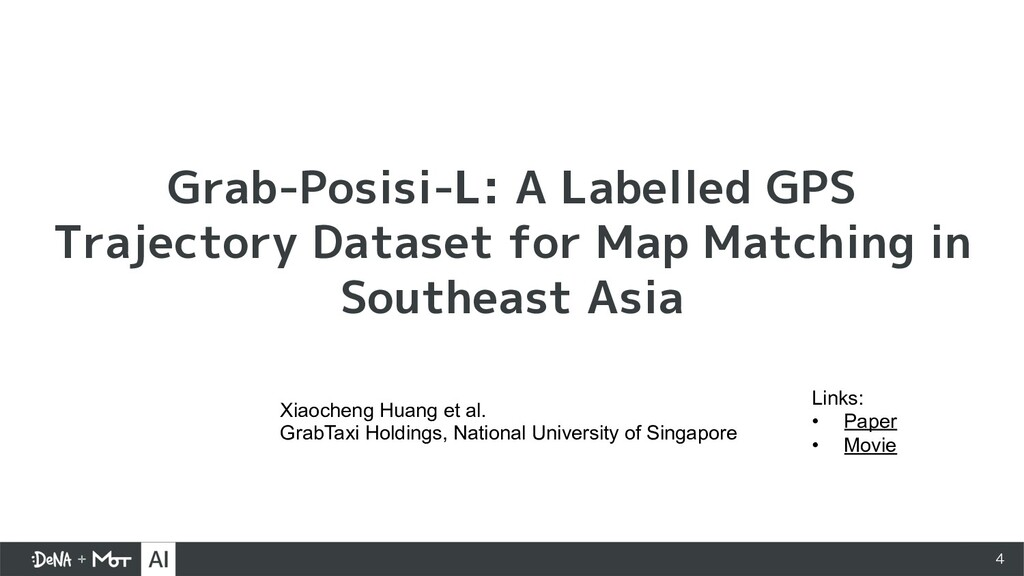 4 Grab-Posisi-L: A Labelled GPS Trajectory Data...