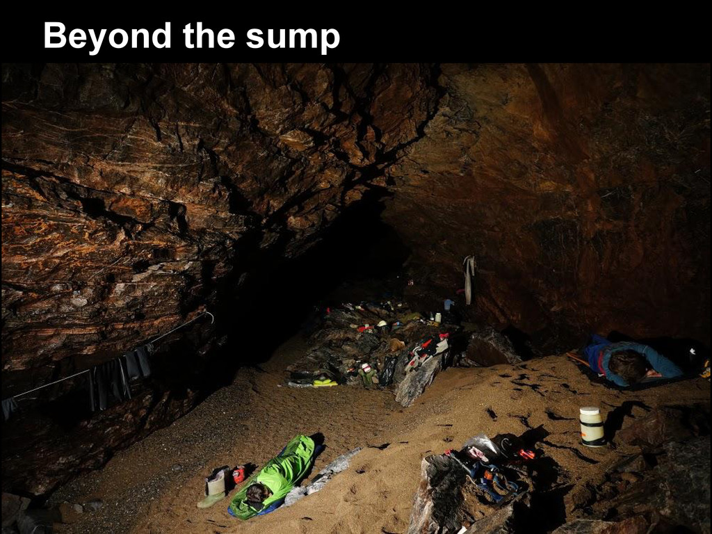 Beyond the sump