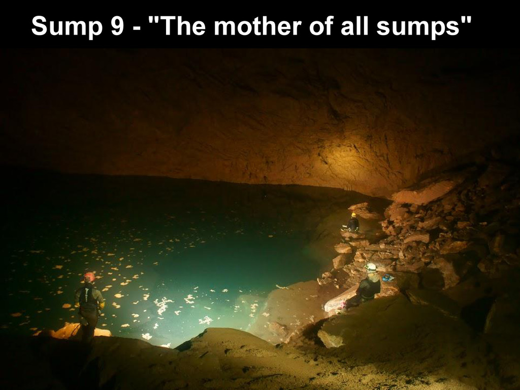 """Sump 9 - """"The mother of all sumps"""""""