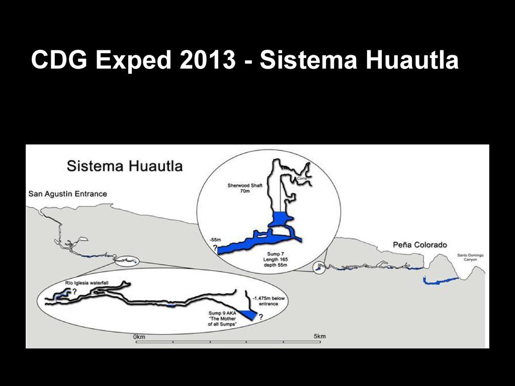 CDG Exped 2013 - Sistema Huautla