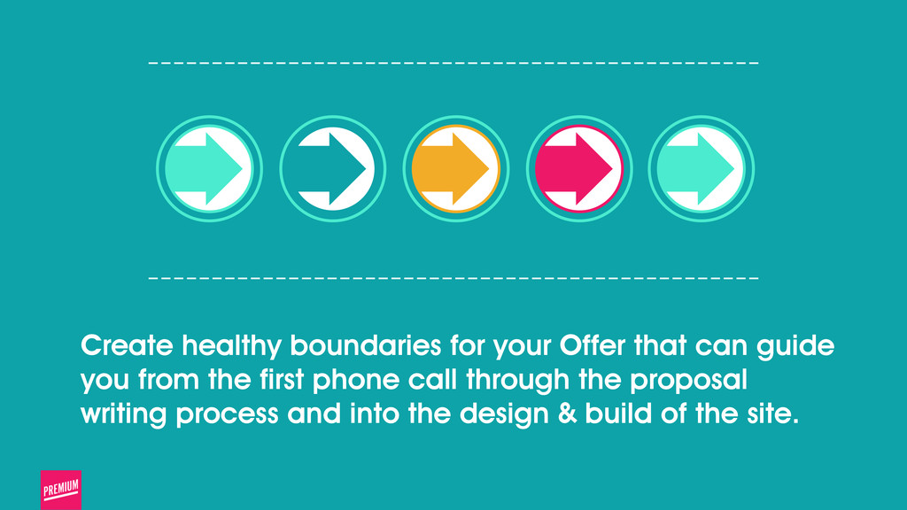 Create healthy boundaries for your Offer that c...