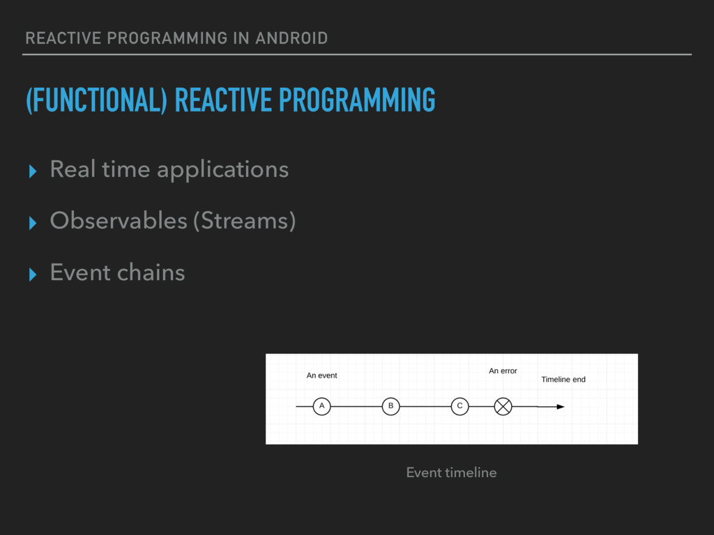 REACTIVE PROGRAMMING IN ANDROID (FUNCTIONAL) RE...