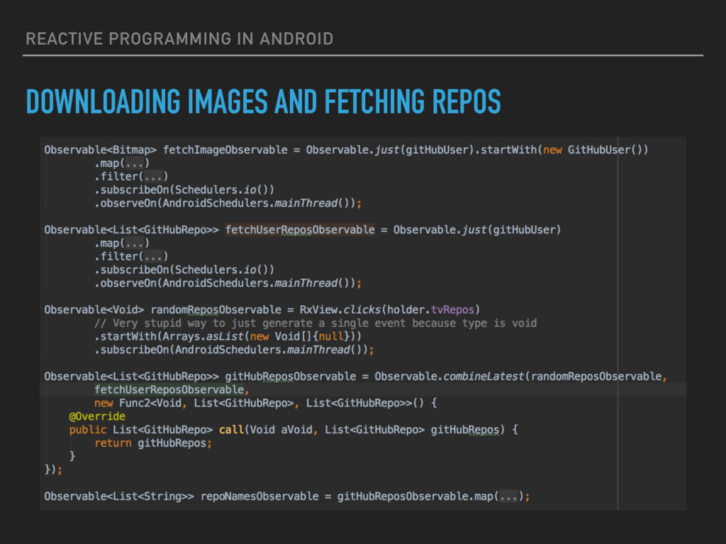 REACTIVE PROGRAMMING IN ANDROID DOWNLOADING IMA...