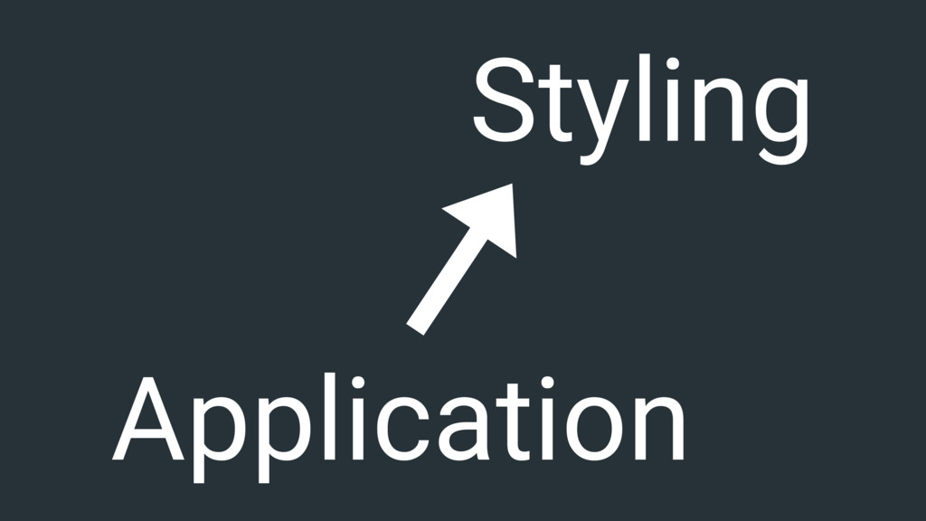 Application Styling