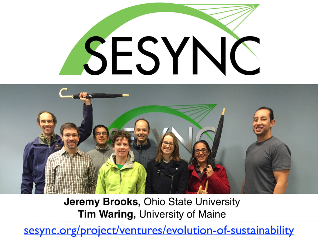 Jeremy Brooks, Ohio State University Tim Waring...
