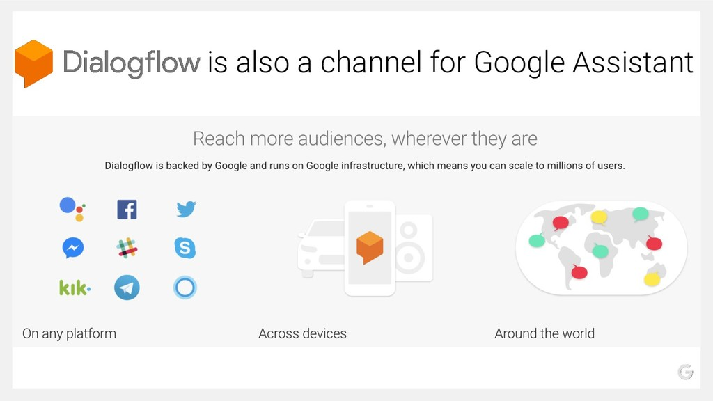 is also a channel for Google Assistant