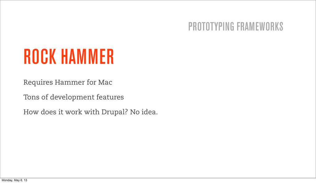 ROCK HAMMER Requires Hammer for Mac Tons of dev...