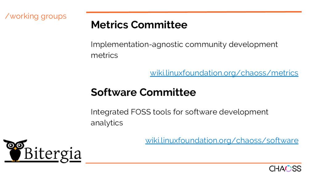 /working groups Metrics Committee Implementatio...
