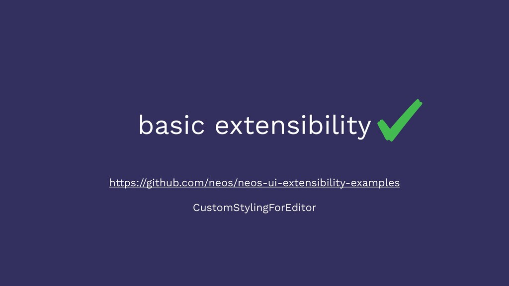 basic extensibility https://github.com/neos/neo...