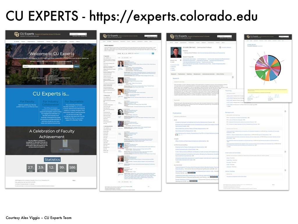 CU EXPERTS - https://experts.colorado.edu Court...