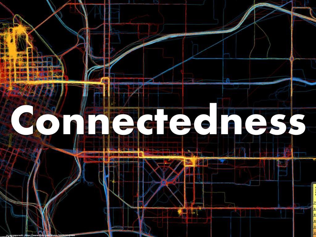 Connectedness cc: aaronparecki - https://www.fl...