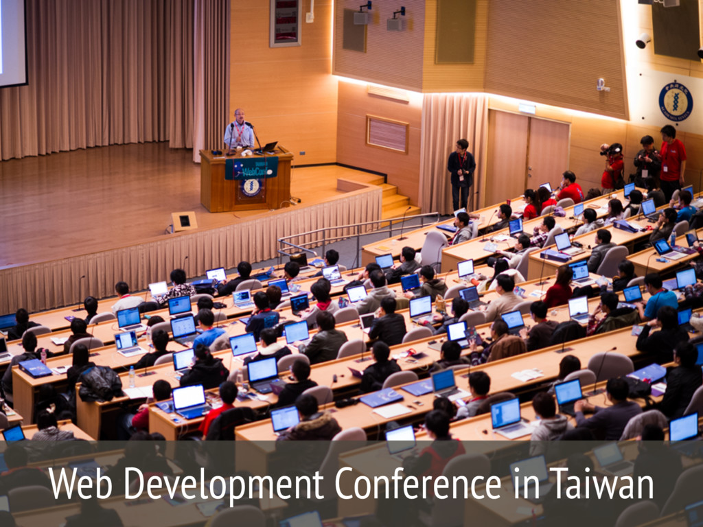 Web Development Conference in Taiwan