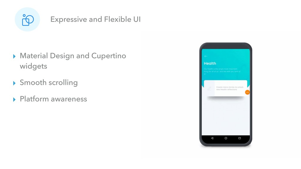 Expressive and Flexible UI ▸ Material Design an...