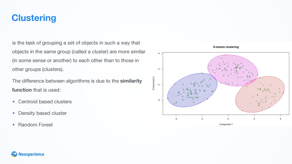Clustering is the task of grouping a set of obj...