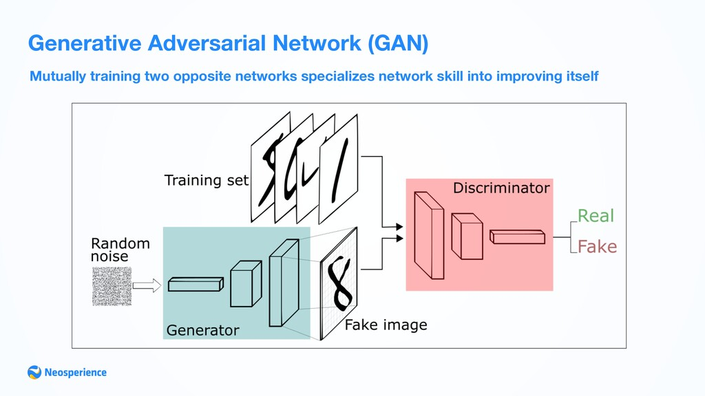 Mutually training two opposite networks special...