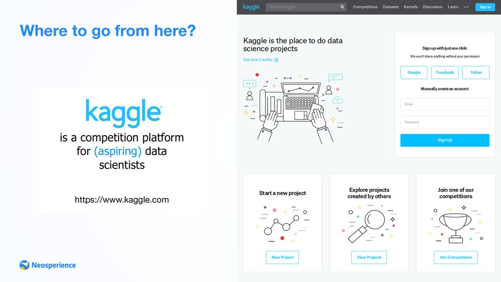 Where to go from here? https://www.kaggle.com